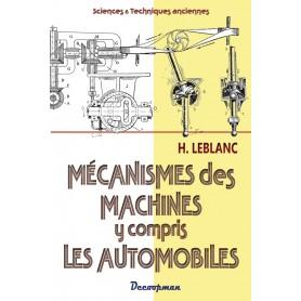 Les mécanismes des machines