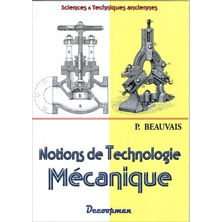 Notions de technologie mécanique