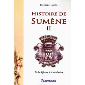Histoire de Sumène - II